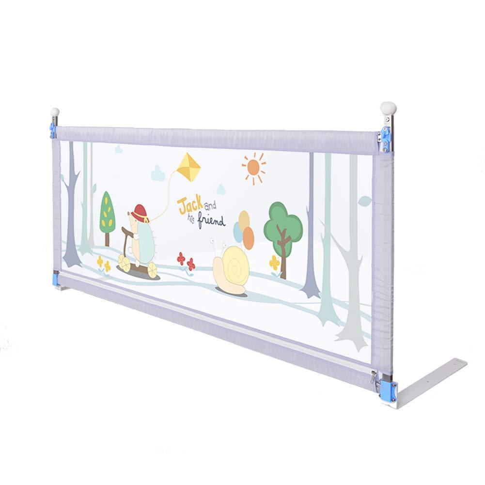 JY 縦の上昇の監視柵の携帯用保護塀、赤ん坊のベッドの柵の幼児の監視柵の特別に長いベッドの監視子供の安全150-200cmの灰色 (サイズ さいず : 150cm) 150cm  B07MRH7NMZ