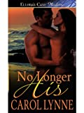 No Longer His by Carol Lynne front cover