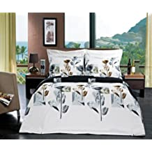 Duvet Cover Plus Down Alternative Cover Set King/Cal.King 4-pcs Hanna made of 100% Egyptian Cotton