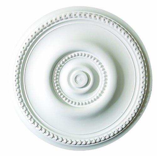 - 20 Inch Diameter classic Ceiling Medallion White Primed Polyurethane #543 By Designer's Edge Millwork