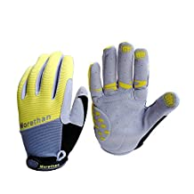 Mingus® Anti-slip Full Finger Gloves Racing Motorcycle Cycling Bicycle Riding Protective Gloves Mittens