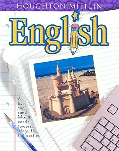 Houghton Mifflin English: Student Edition Hardcover Level 3 2001