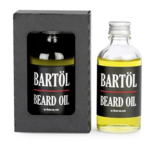 A.P. Donovan ✶ Luxus Bartöl in Glas-Flasche 50ml ✶ Bartpflege ✶ 100% Bio-Öl