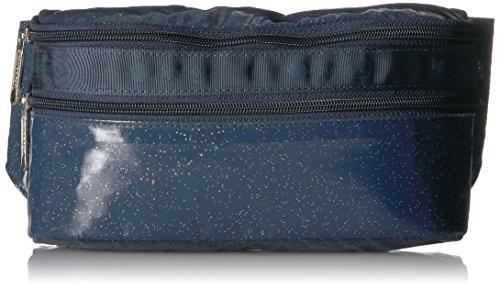 LeSportsac Women's Classic Double Zip Belt Bag, Astro Glitter