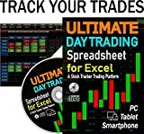 ULTIMATE Day Trading Spreadsheet for Excel. A Stock Trading Tracker Platform That Helps You Analyze Your Trades, View Performance and Improve