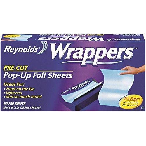 Reynolds Wrappers Aluminum Foil Pop Up & Sheets, 50 Count ()