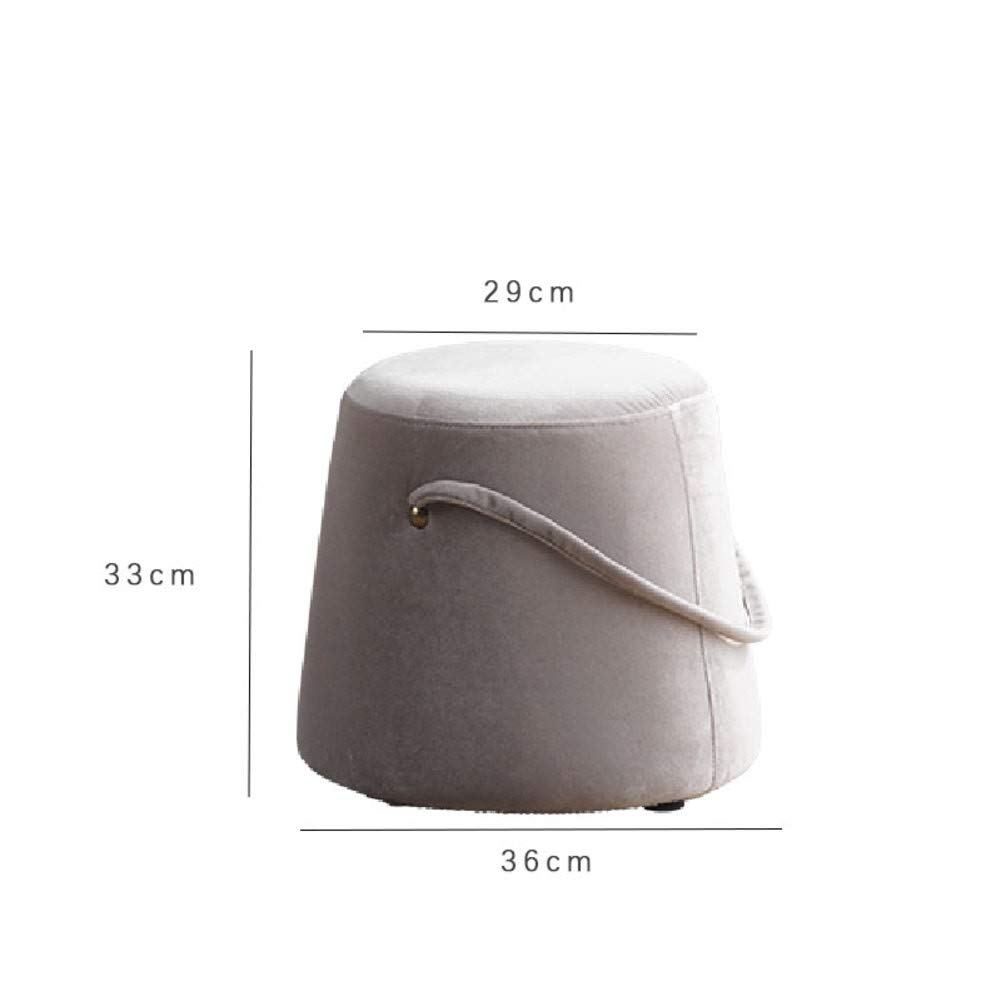 C 29x33x36cm(11x13x14inch) Footstool Footrest,Portable,Sturdy Stable Stool Softness shoes Bench for Fitting Room Living Room Home Modern Home-j 37x38x45cm(15x15x18inch)