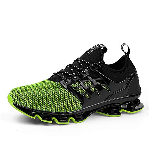 De Chaussures Course Gym Athletic Marche Respirant Lgres Sports Jogging Watelves Baskets Casual Hommes dwwb Green Mode Mesh xqtISI