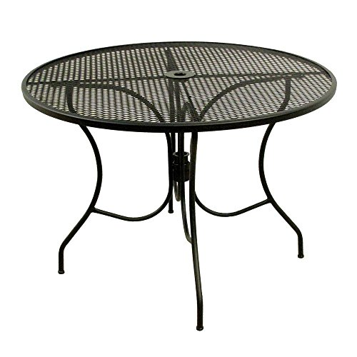 Meadowcraft Round Mesh Patio Dining Table Glenbrook 42