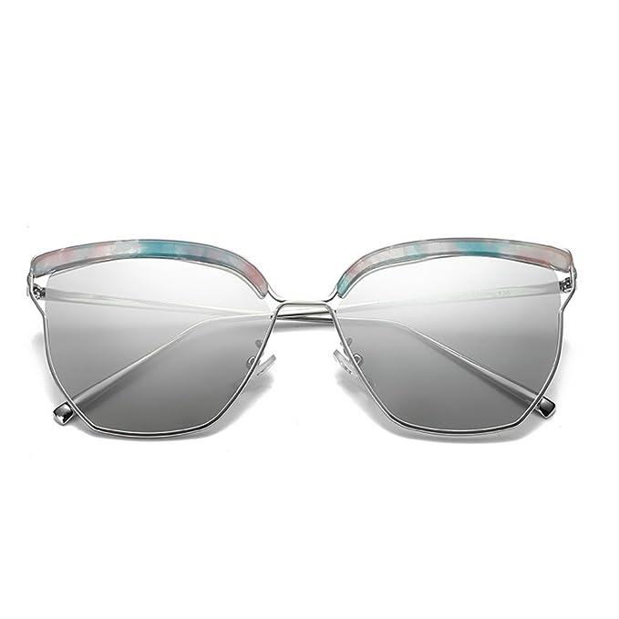 Nuevas gafas de sol 2018 Gafas de sol de bastidor grande ...