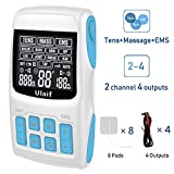 TENS Unit EMS Massage Combination Unit Muscle Stimulator for Pain Relief Arthritis Muscle