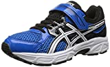 ASICS Pre Contend 3 PS Running Shoe (Little Kid), Electric Blue/White/Black, 3 M US Little Kid