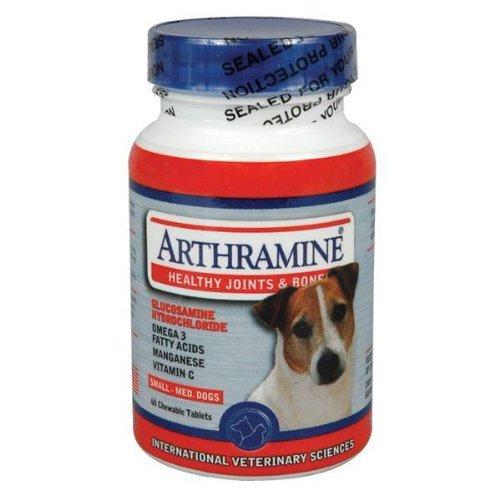 Arthramine Chewable - Small and Medium Breed - 60 tabs