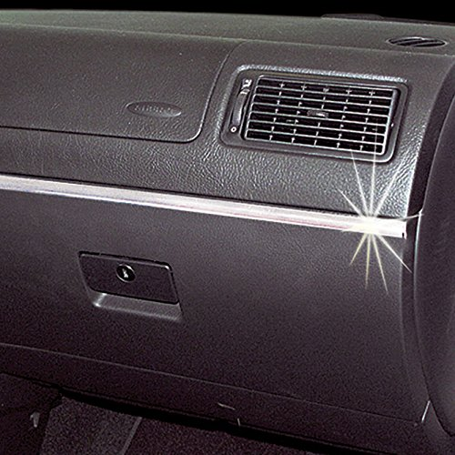 Profilo Adesivo Cromato Decorativo 3m X 12mm SUMEX 0013999 Race Sport