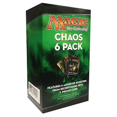 Create Build Stronger More POWERFUL Decks Magic The Gathering Chaos 6 Pack Mystery Box Trading Cards - Perfect For Hosting Chaos Drafts With Your Friends Or Expanding Your Collection!