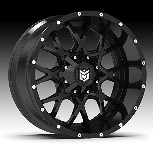 Dropstars 645B Wheel with Black Finish