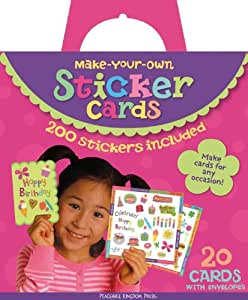 Peaceable Kingdom Make Your Own Sticker Cards Kit