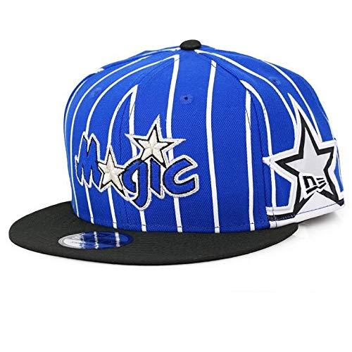 Orlando Magic Cap - New Era NBA Men's Orlando Magic Hardwood Classic Nights 3 9Fifty Adjustable Snapback Hat Blue