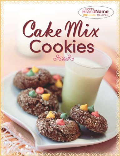 Cake Mix Cookies (Favorite Brand Name Recipes)