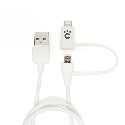 Danboard Usb Cable With Lightning U0026 Micro Usb Connector: Amazon.com: cheero 2in1 USB Cable with micro USB 6 Lightning rh:amazon.com,Design