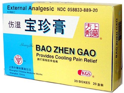 External Analgesic Plaster (Shang Shi Bao Zhen Gao) 5 Sheets X - Works Chinese Herbal Shanghai