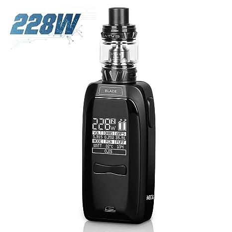 Cigarrillos Electronicos 228W Blade Gran Volumen Mod Vape Sub-Ohm ...