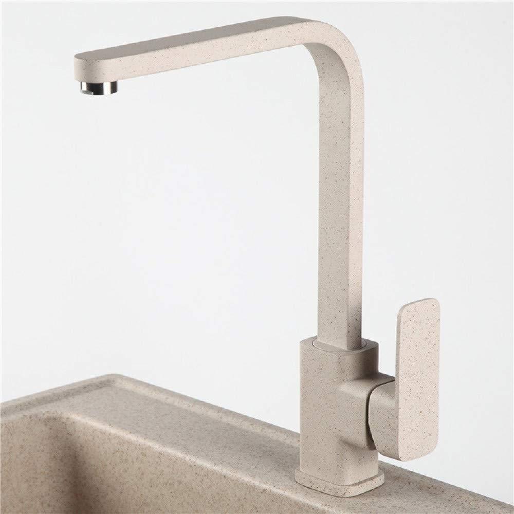 Brass Chrome Kitchen Right Angle Sandblasting Paint 360 Degree redary Faucet Kitchen Taps Kitchen Sink Mixer Taps