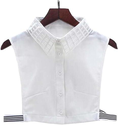 Black Temptation Cuello Falso Falso del Cuello de Las Camisas de la Blusa del Collar Falso Collar Falso para Las Mujeres, B: Amazon.es: Deportes y aire libre