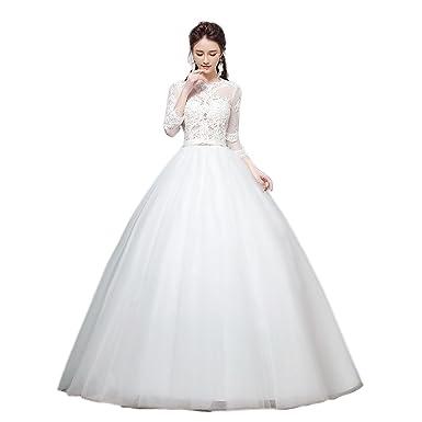40f6c3a321b22 長袖 エンパイアドレス ウエディングドレス・二次会ドレス エンパイアライン ウエディング ドレ ス 花嫁 ドレス 秋冬