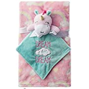 Baby starters Unicorn Baby Plush Blanket With Security Toy