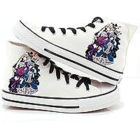 Black Butler Kuroshitsuji Anime Ciel and Sebastian Cosplay Shoes Canvas Shoes Sneakers 4
