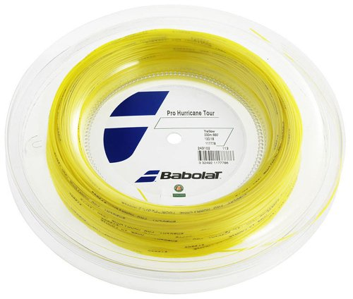 Babolat Pro Hurricane Tour 16G Reel – 660 ft Tennis String