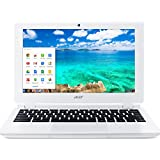 "Acer Chromebook 11.6"" (Intel Celeron N2830, 2 GB, 16GB SSD) Laptop - Moonstone White"