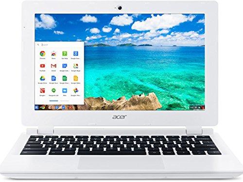 : Acer CB3-111-C4GD Chromebook Intel Celeron 2.16 GHz 16GB SSD 2GB DDR3 11.6', Moonstone White