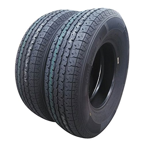 Set of 2 Radial Trailer Tires ST22575R15 10 Ply Speed Rating/L 2257515 Radial Trailer Tires 225/75r15 Load Range E