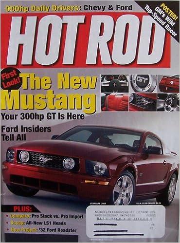 Hot Rod [ Vol  57 No  2, Feb  2004 ] Poster! GM's Wild Top