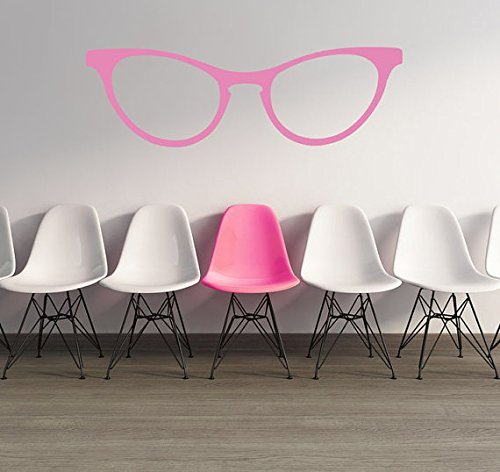 Glasses Wall Decal, Retro Glasses Wall Decal, Cat Eye Glasses, Optometrist Wall Decor, Dorm Decor, Fashion Trendy Eyewear, Specs - Optometrist Sunglasses