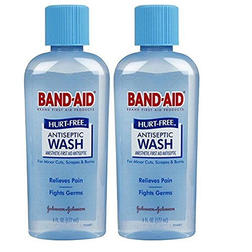(Band-Aid Hurt Free Antiseptic Wash - 6 oz - 2 pk)