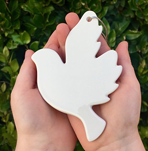 BENJAMIN BJORN My Baptism Dove -Beautiful Baptism Gift, Ageless & Unisex, Porcelain Dove Ornament for Baptism, Confirmation & Christening