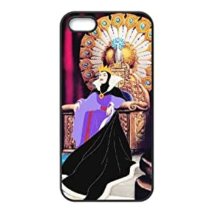 Disney Snow White And The Seven Dwarfs Character iPhone 4 4s Cell Phone Case Black TPU Phone Case SY_754330