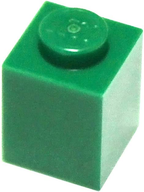 LEGO Parts and Pieces: Green (Dark Green) 1x1 Brick x50