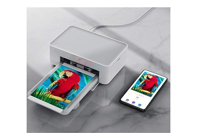 Xiaomi Wireless Photo Printer Ink and Paper White: Amazon.es ...