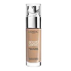 L'Oréal Paris Make Up Designer - Accord Parfait Fond de Teint Fluide Unifiant Beige Neutre (4.N) 30ml