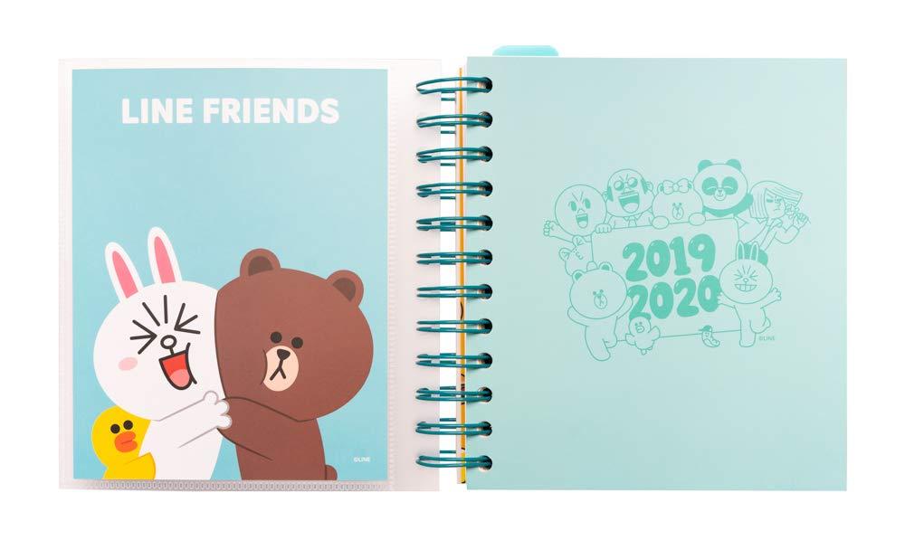 Amazon.com : Line Friends 2019-2020 Academic Diary ...