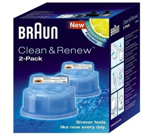 Braun Cleaner Fluid For Electric Shavers Activator Series, Synchro Series by Braun