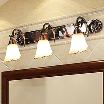 Leihongthebox Spiegelleuchte Badezimmer Lampe Spiegel Leuchten E27 ...