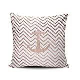 Best Lavievert LTD Bath Pillows - Fanaing White Chic Handdrawn Chevron Rose Gold Nautical Review