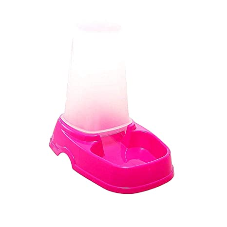 Snner Tazón Plato Dispensador automático del Animal doméstico de Doble propósito del alimentador del alimento Comedero