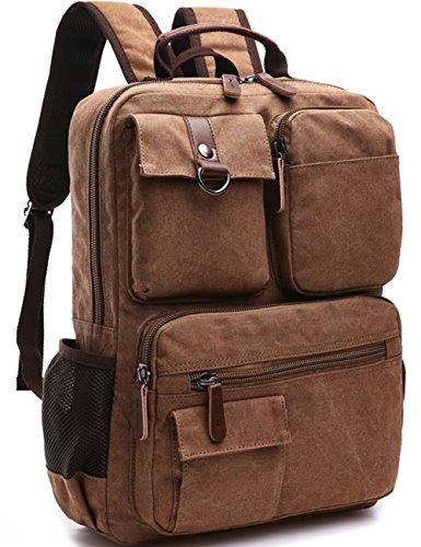 Aidonger-Vintage-Canvas-School-Backpack-Laptop-Backpack