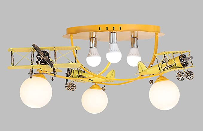 Hjhy lampade da soffitto american village lampade per bambini per